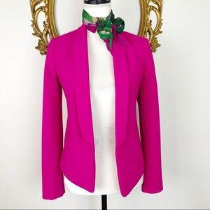 Express Hot Pink Open Blazer Size 0